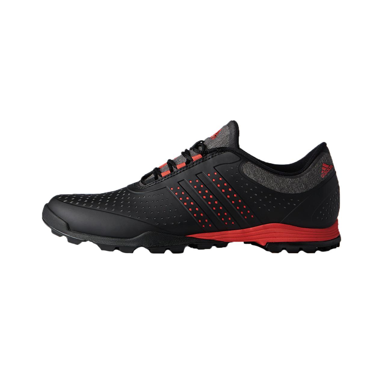 adidas adiPure Sport Women's Golf Shoe - Black/Red