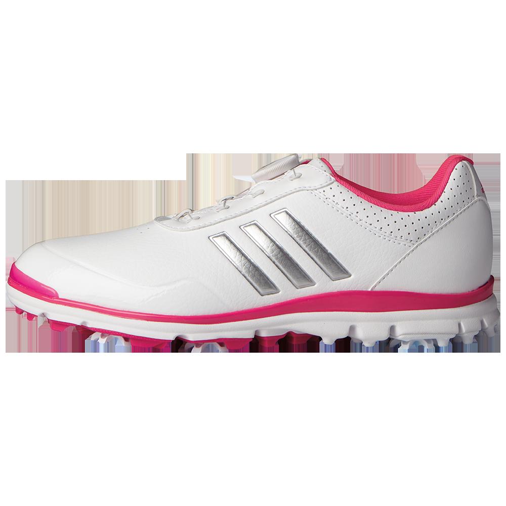 adidas Adistar Lite Boa Women's Golf Shoe - White/Silver