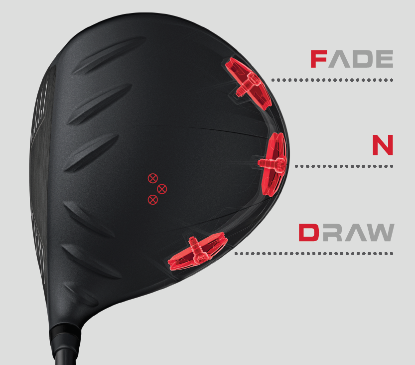 PING G410 Fade-Neautral-Draw Tech Image
