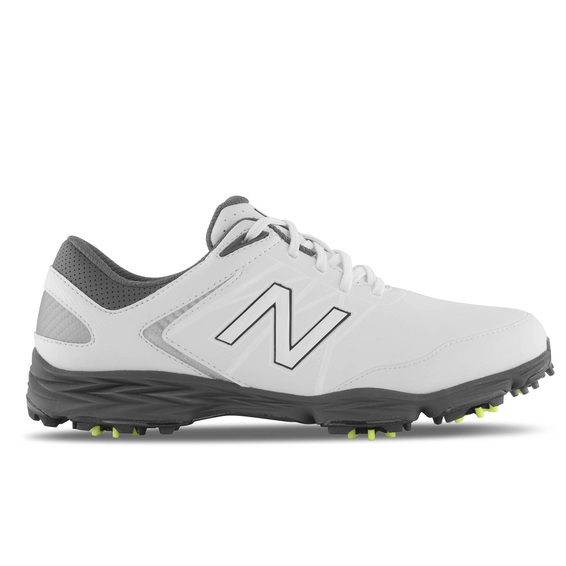 NB Striker Men's Golf Shoe - White/Grey