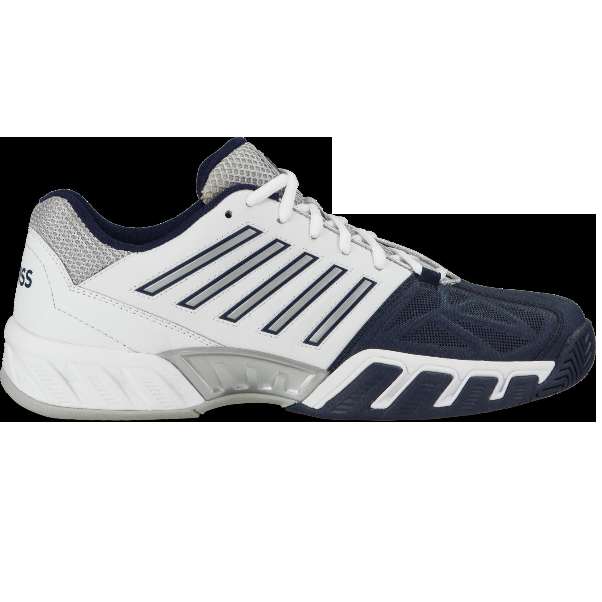 K Swiss Bigshot Light 3 Men S Tennis Shoe White Navy Pga Tour Superstore