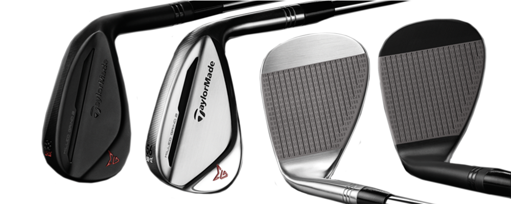 TaylorMade MG2 Wedge Finishes