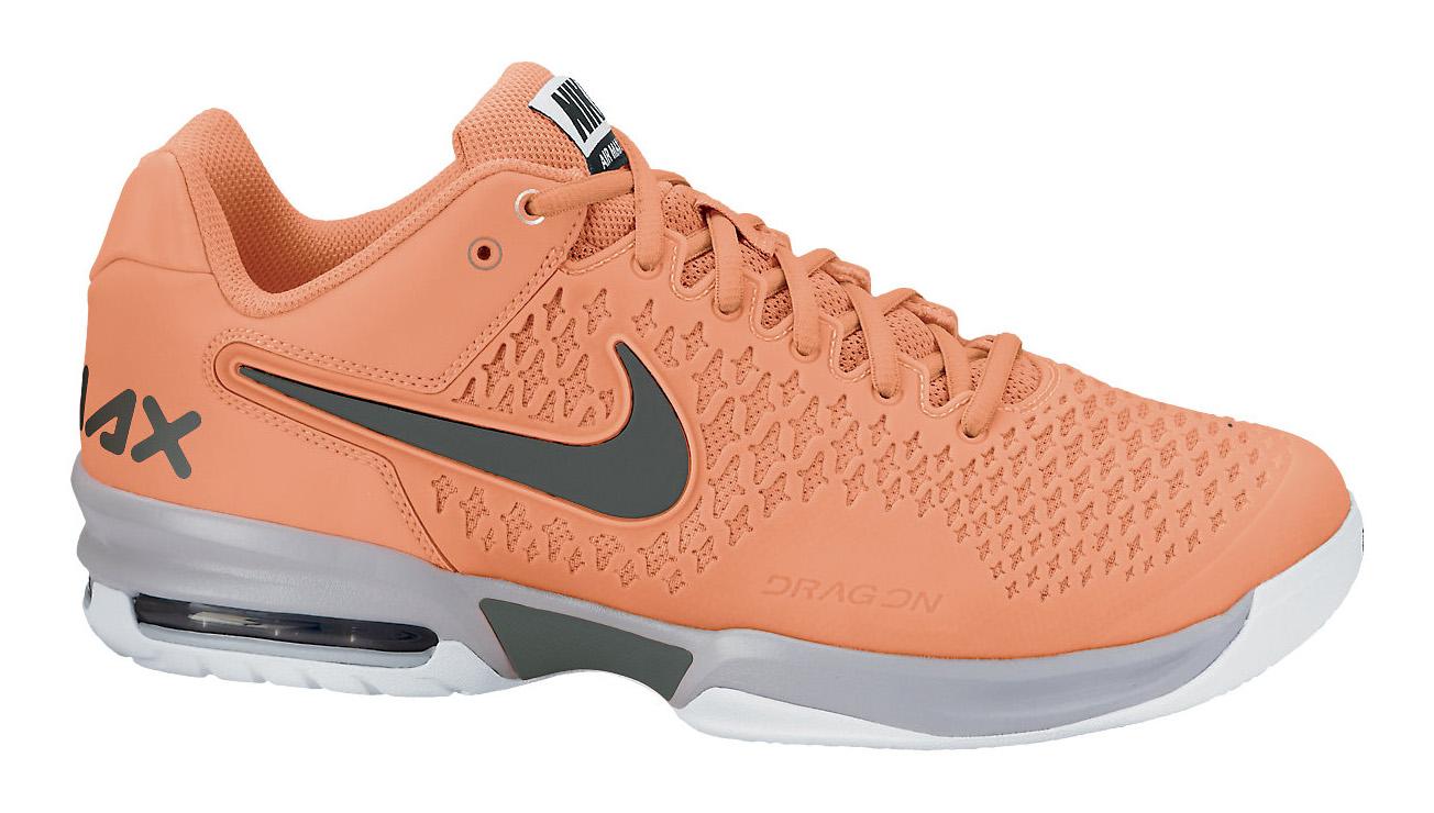 Nike Air Max Cage Men's Tennis Shoe - Orange