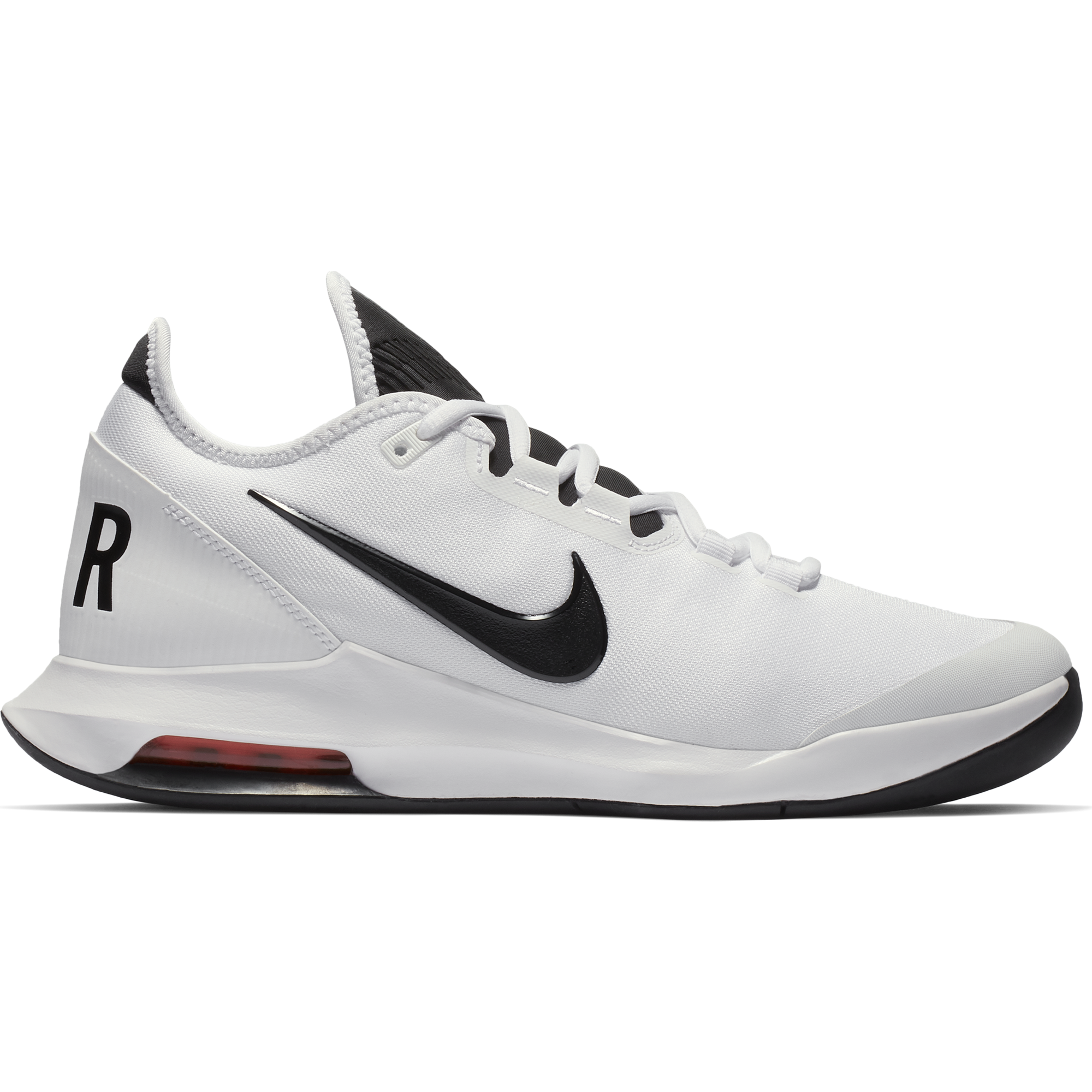 new arrivals d78ff 1f652 Nike Air Max Wildcard Men s Tennis Shoe - White Black Red   PGA TOUR  Superstore