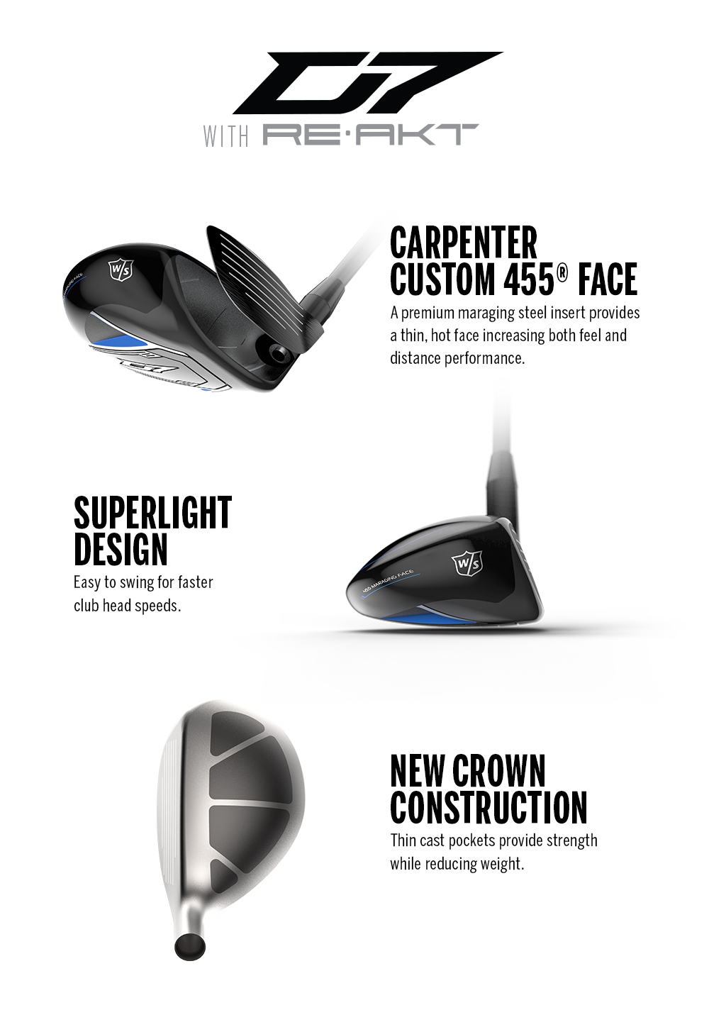 Wilson D7 Hybrid Product Features Image
