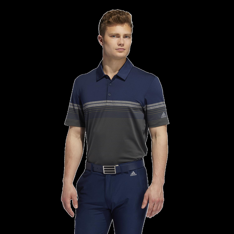 Ultimate365 Gradient Block Stripe Polo Shirt