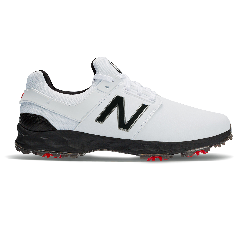 suma En todo el mundo Fuerza motriz  New Balance Fresh Foam LinksPro Men's Golf Shoe - White/Black | PGA TOUR  Superstore
