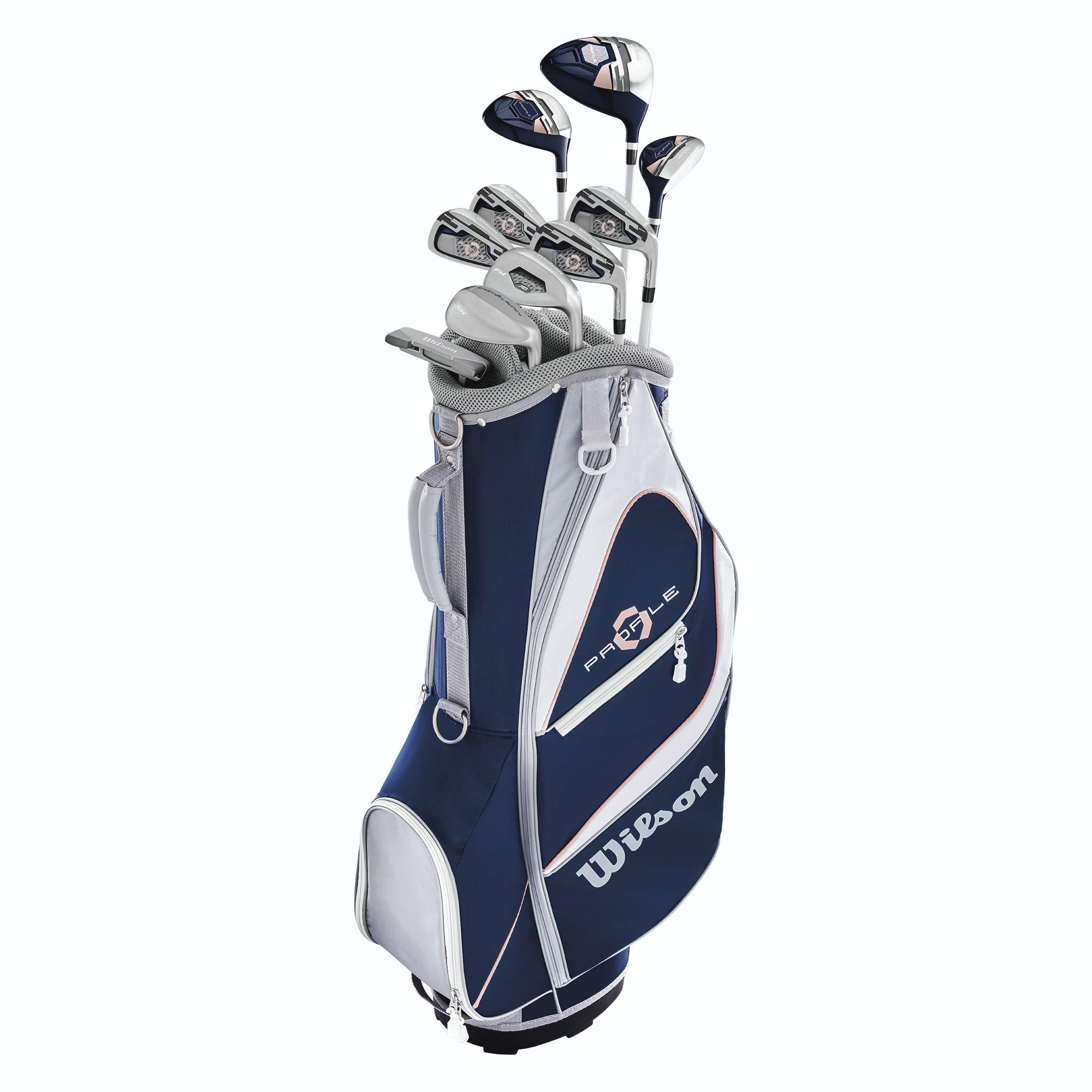 Wilson Profile Xd Women S Complete Golf Club Set W Cart Bag Pga Tour Superstore