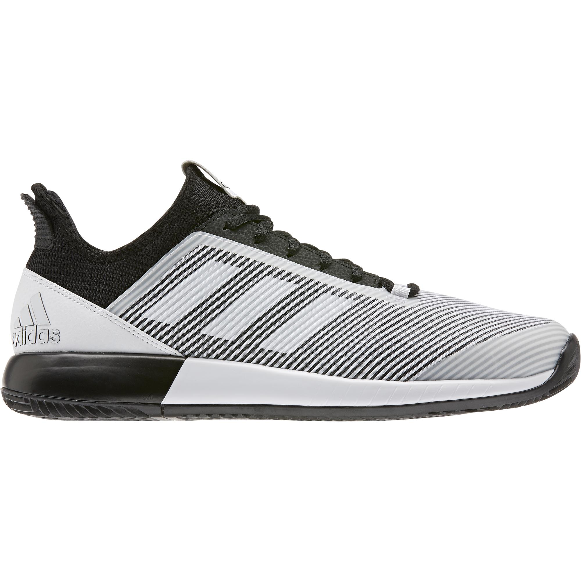 Inmigración Prefacio violín  Adidas Adizero Defiant Bounce 2 Men'sTennis Shoes - White/Black | PGA TOUR  Superstore