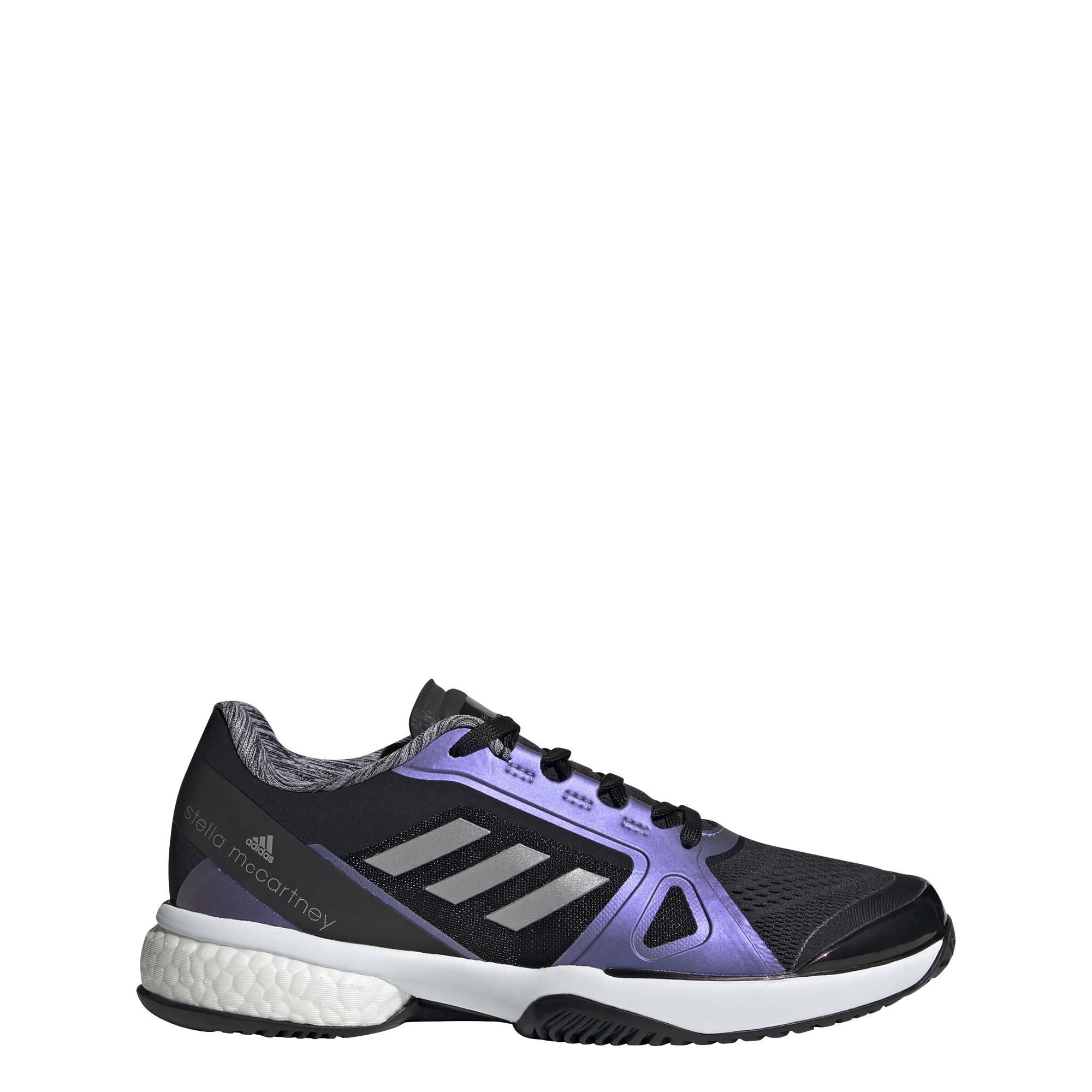 Stella Court 21 Women's Tennis Shoe - Black/Purple