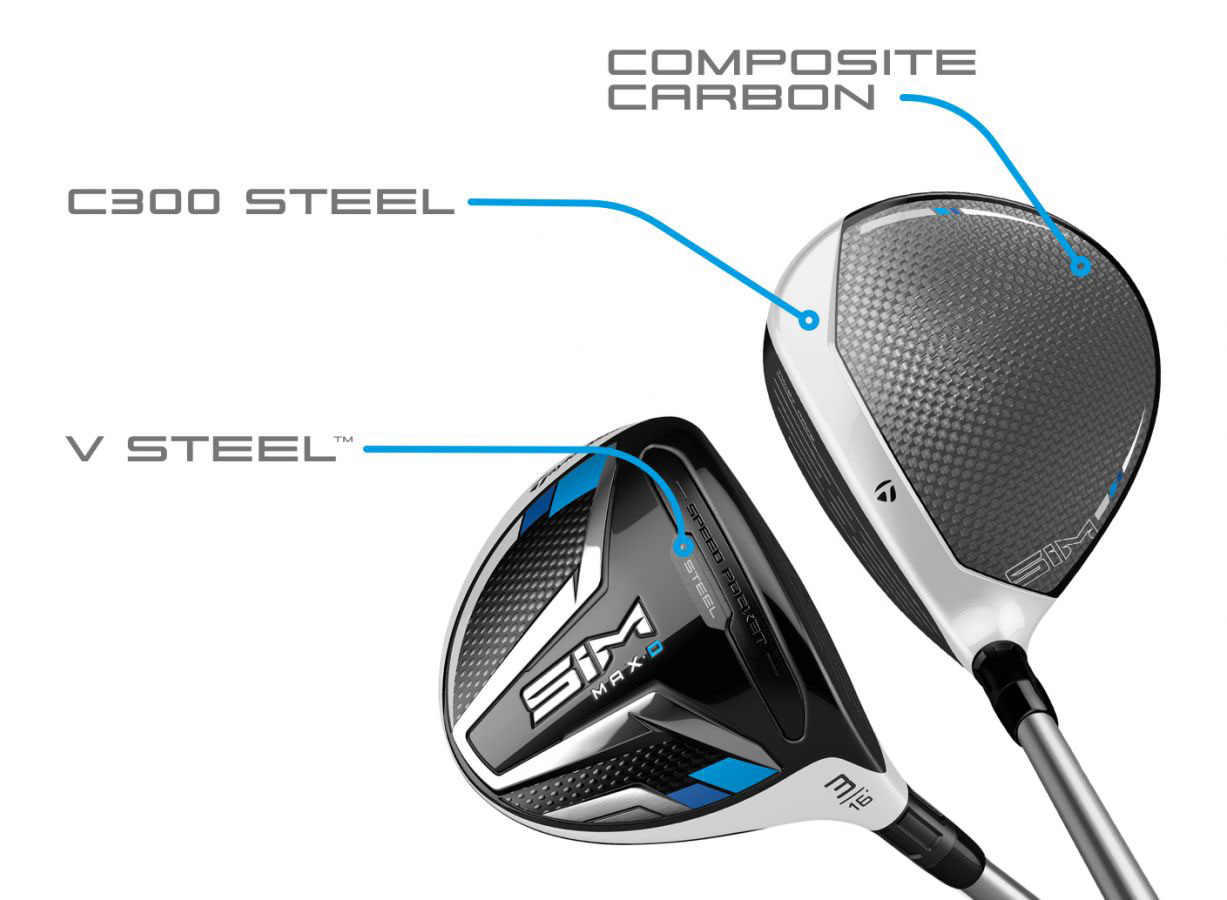 TaylorMade SIM MAX D Fairway Wood CG
