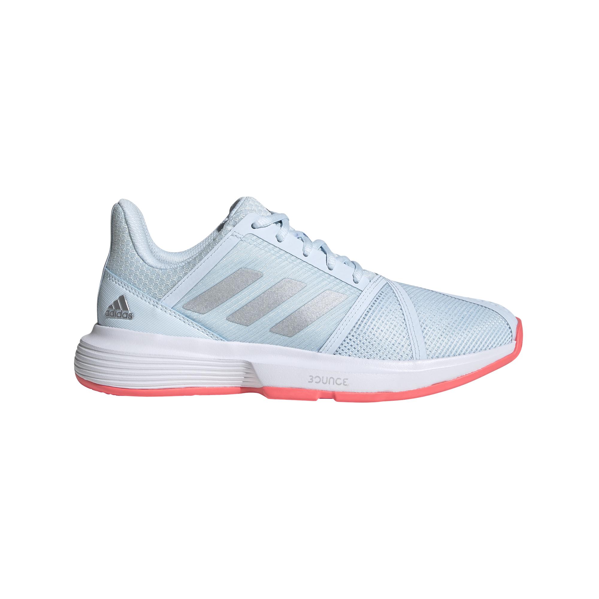 CourtJam Bounce Women's Tennis Shoe - Light Blue/White