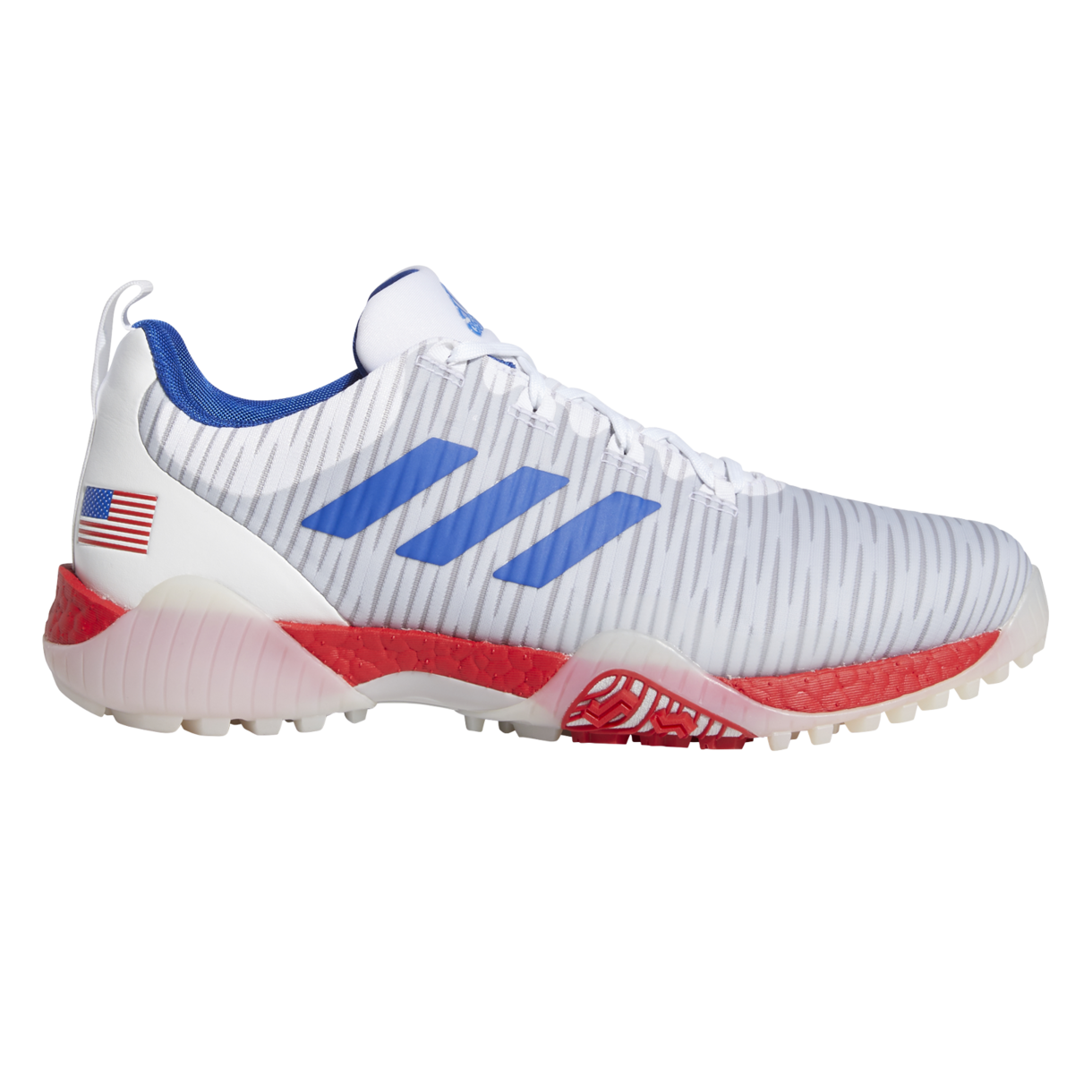 Golf Shoe - Red/White/Blue