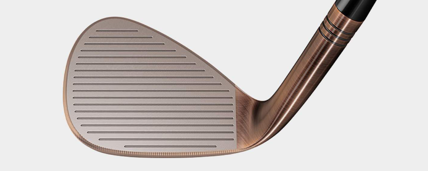 TaylorMade Milled Grind Hi-Toe Bigfoot Wedge Face