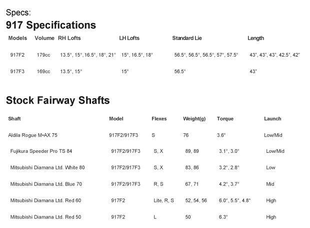 Titleist 917 Fairway