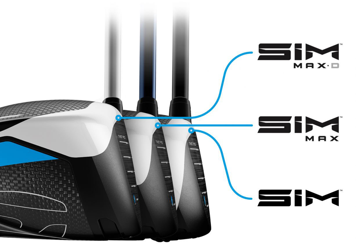 TaylorMade SIM Driver Progressive Face Height