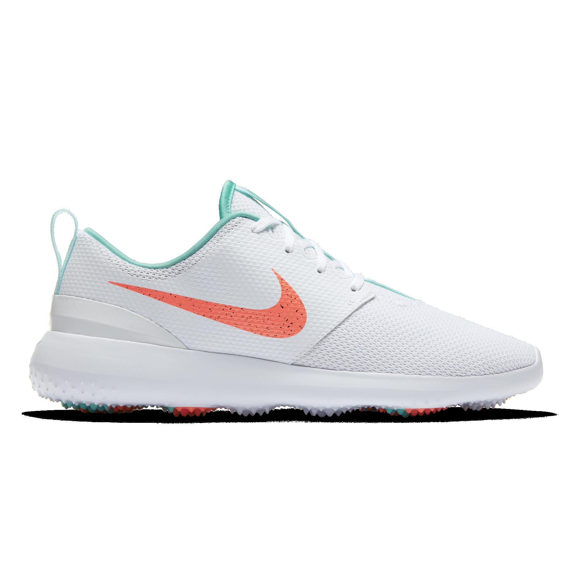 Nike Roshe G Men S Golf Shoe White Green Pga Tour Superstore