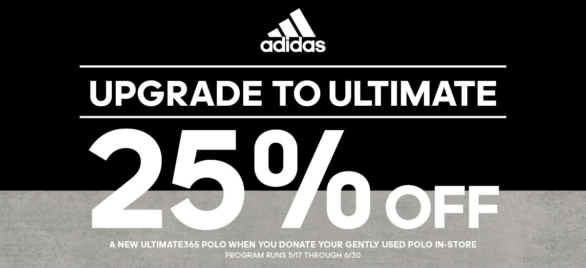 adidas Ultimate365 25% Off Promo