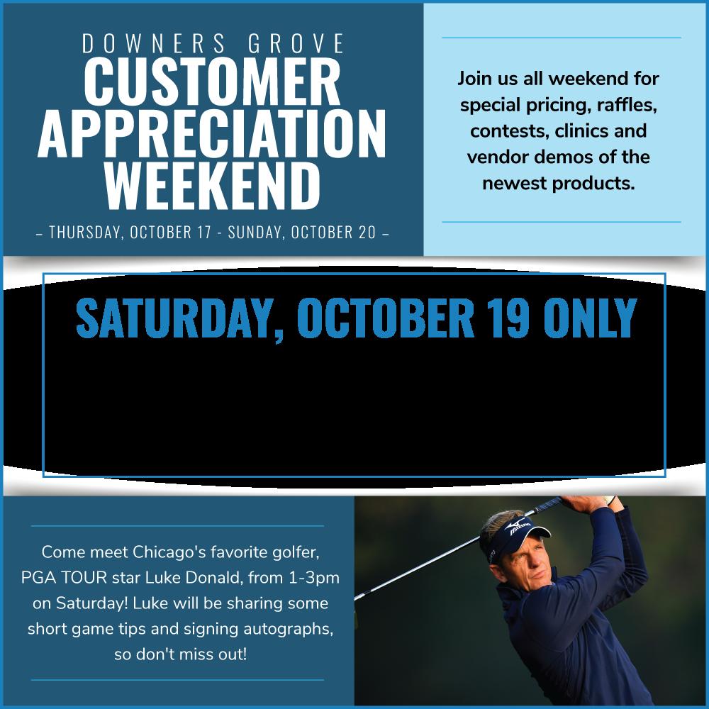 Downers Grove Customer Appreciation Weekend