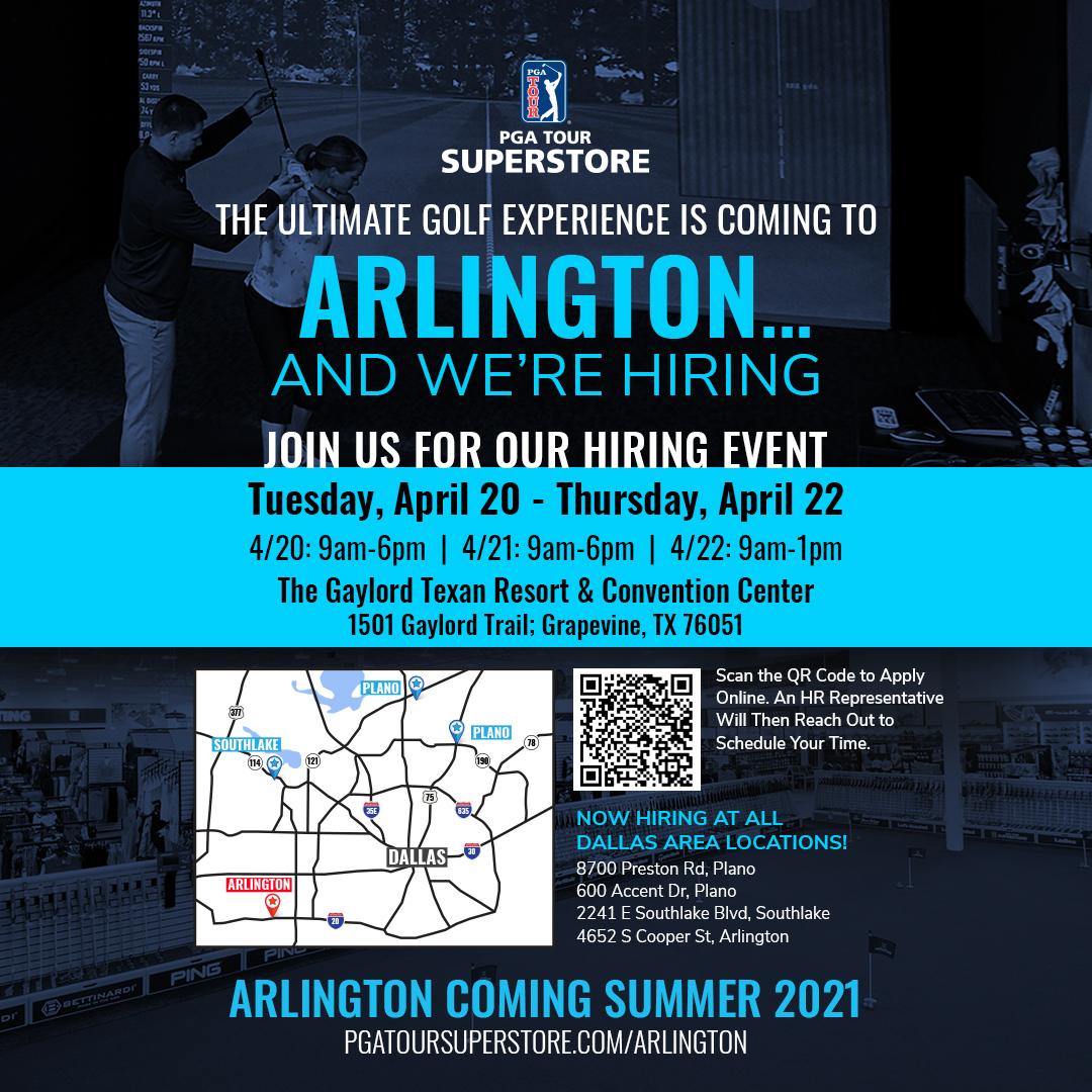 Arlington Hiring Banner