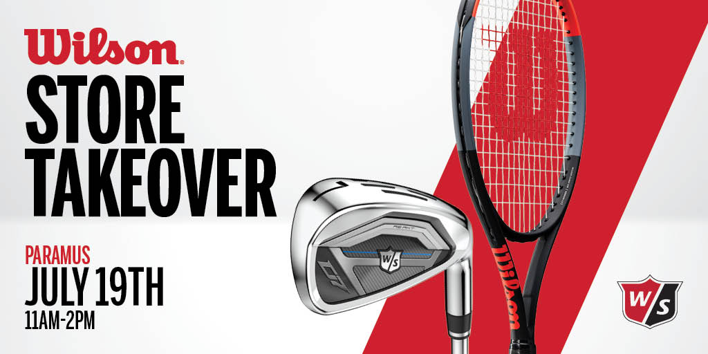 Wilson Golf and Tennis Store Takeover Event Details