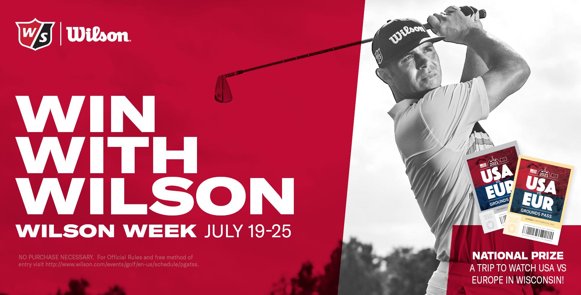 Wilson Week Banner