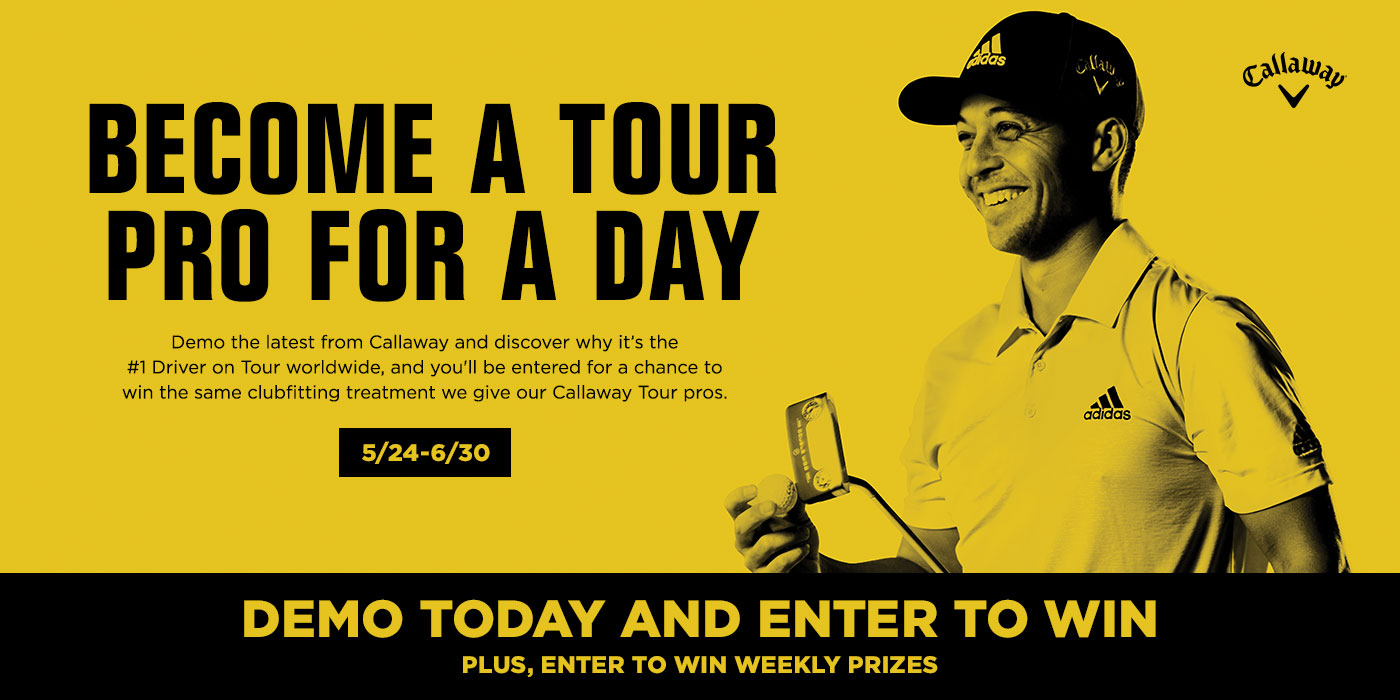Callaway Summer Sweepstakes Banner